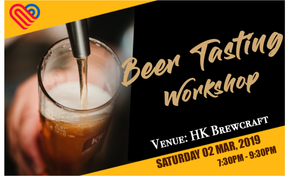 Comedie's Beer Tasting Workshop at HK Brewcraft